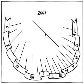 Číselník se zdobenou stuhou